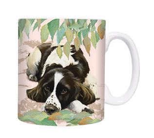 Dog-Paradise - Tasse Motiv English Springer Spaniel Springtime