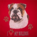 Bulldogge I Love My Bulldog