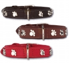 Art-Leatherhalsband Silverpaws Halsband