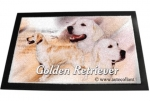 Designer Fussmatte Golden Retriever 1
