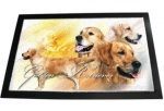 Designer Fussmatte Golden Retriever 2
