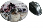Mousepad Australian Shepherd Dog 1