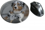 Mousepad Australian Shepherd Dog 2
