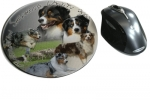 Mousepad Australian Shepherd Dog 3