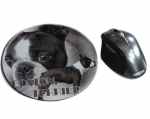 Mousepad Boston Terrier