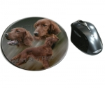 Mousepad Irish Red Setter 2