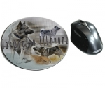 Mousepad Norwegischer Elchhund / Norwegian Elkhound