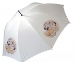 Regenschirm Motiv Golden Retriever 1