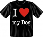 T-shirt I Love my Dog