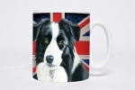 Tasse Motiv Border Collie British