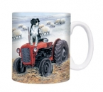 Tasse Motiv Border Collie Tractor Trials