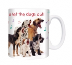 Tasse Motiv Who Let The Dogs Out !