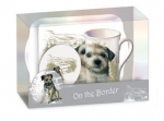 Tee Time Set Border Terrier