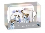 Tee Time Set Jack Russell Terrier