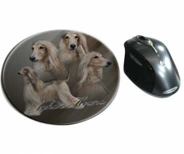Mousepad Afghane 1 Afghanischer Windhund