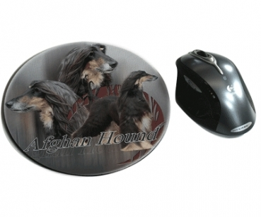Mousepad Afghane 2 Afghanischer Windhund