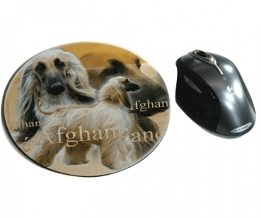 Mousepad Afghane 3 Afghanischer Windhund