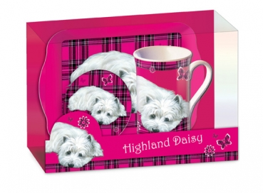 Tee Time Set West Highland White Terrier